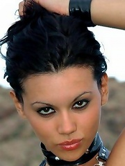Ultra seductive femme fatale with stunning physique and exotic looks.